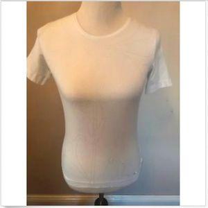 EUC ESCADA SPORT White Crewneck T-shirt SZ XS